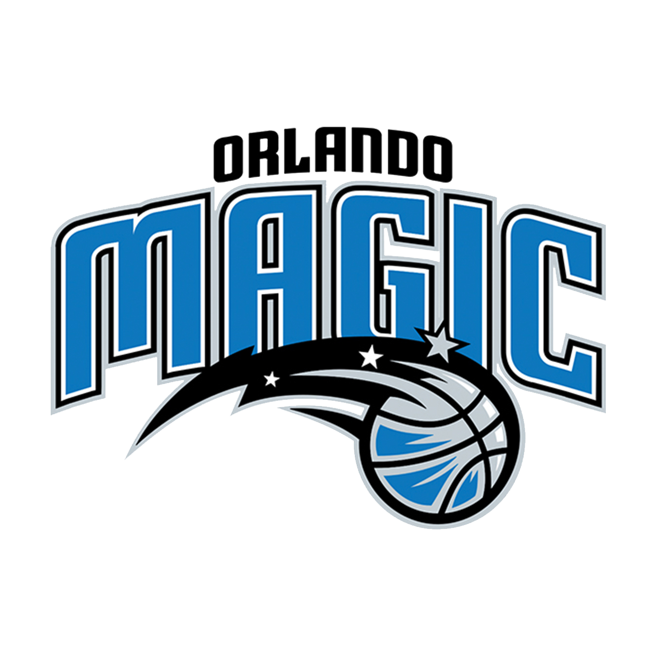 Orlando Magic logo.
